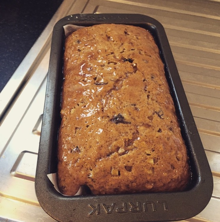 Sticky malt loaf | Nom Foods