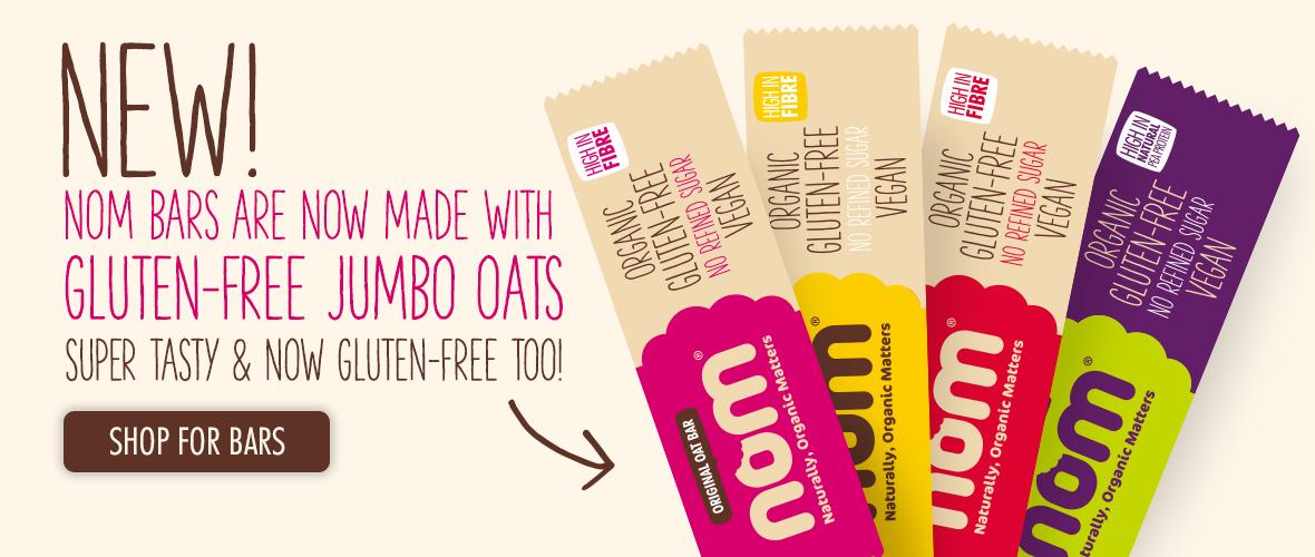 Gluten free nom bars